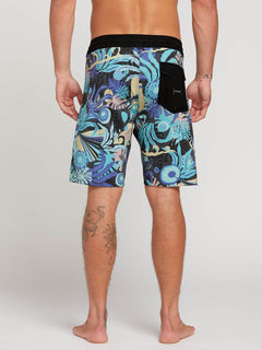 "Tripped Stoney 19"" Boardshort  - Black"