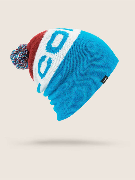 Global Beanie - Blue