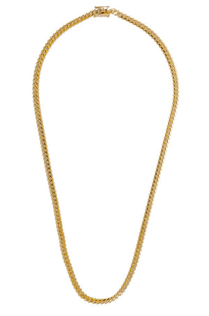 "14k Yellow Gold Miami Cuban Link Chain 24"" 5.8mm"
