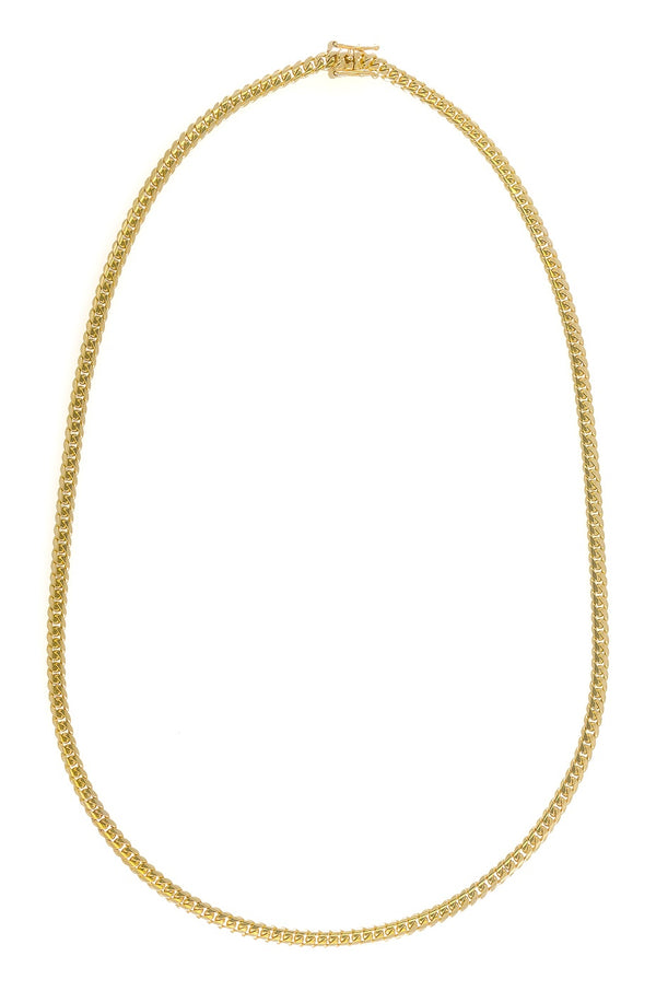 "14k Yellow Gold Miami Cuban Link Chain 26"" 5.3mm"