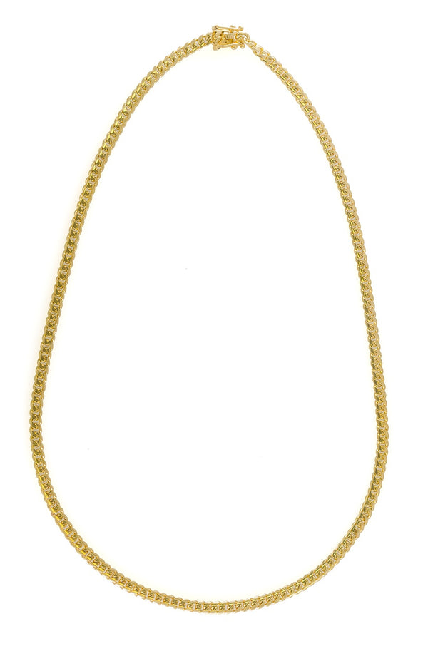 "14k Yellow Gold Miami Cuban Link Chain 26"" 5.8mm"
