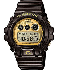G-Shock Men's Digital Brown Resin Strap Watch 50x53mm