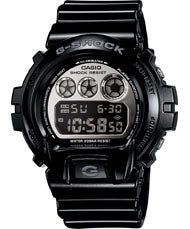 G-Shock Men's Mirror Metallic Black Resin Strap Watch DW6900NB-1