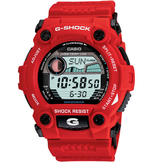 G-Shock Men's Red Resin Strap Watch G7900A-4