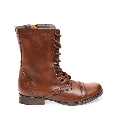 TROOPA BROWN LEATHER