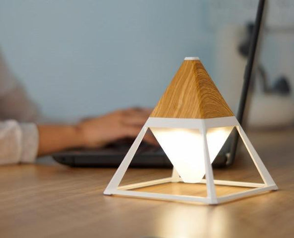 Pyramid Touch Activated Diamond Lamp