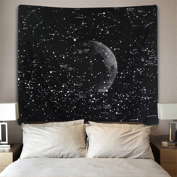 Cassiopeia - Constellation Tapestry Wall Hanging