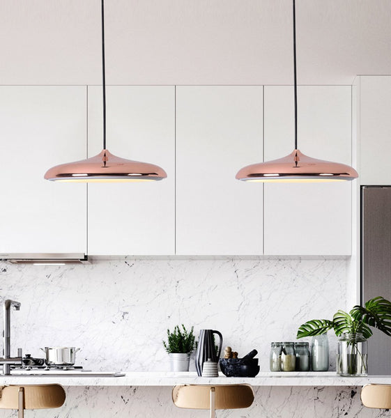 Post-Modern Nordic Circular LED Hanging Lamps