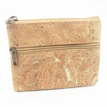 Eco Ninjas Vegan friendly cork change purse gold