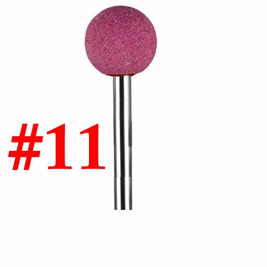 "Corundum Pink Nail Bit ""Ball #11"" - 5.3mm"