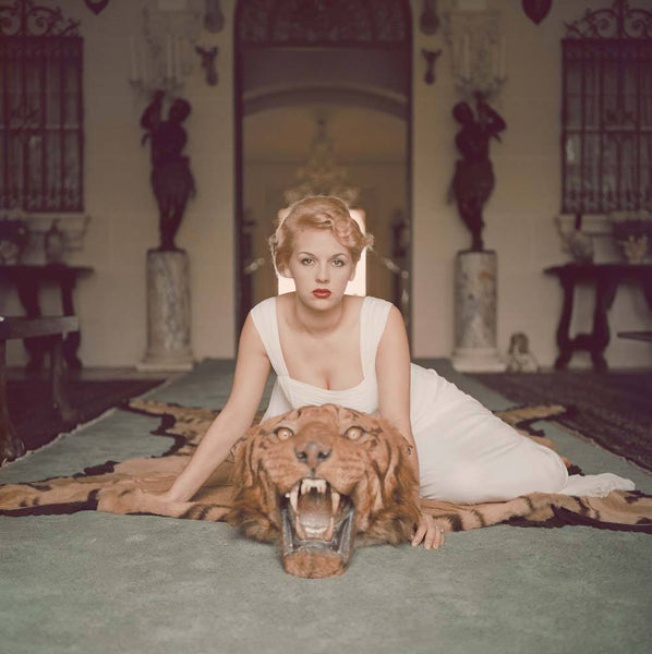 Beauty and Beast by Slim Aarons - FINEPRINT co