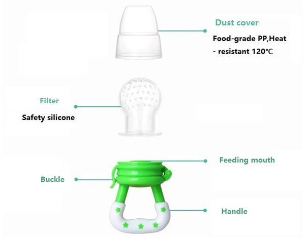 Fresh Food Feeder Pacifier, Mesh Feeder Pacifier