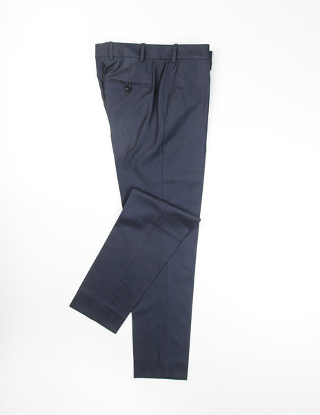 BROOKLYN TAILORS - BKT50 Trousers in Navy Herringbone