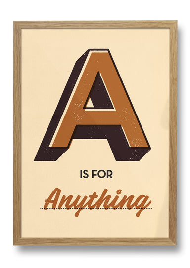 A is for ... Personalised Print