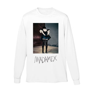 Madonna backside long sleeve tee & digital album-Madonna