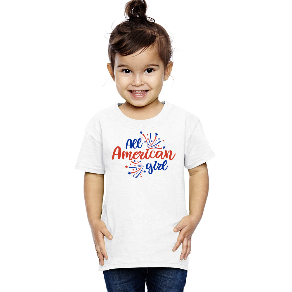 Toddler All American Girl T-Shirt