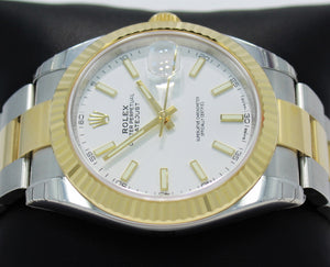 Rolex Oyster Perpetual Datejust 41 126333 WHTSO Unworn