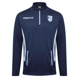 Cardiff Blues Travel ¼ Zip Top Adult 18/19