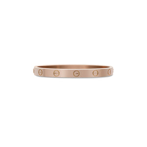 Cartier 18K Rose Gold Love Bracelet Size: 16cm