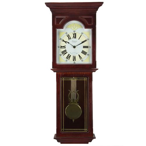 Bedford Clock Collection Redwood 23 Wall Clock