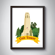 Load image into Gallery viewer, Coit Tower Art Print