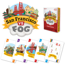 Load image into Gallery viewer, San Francisco Vs Fog - card game