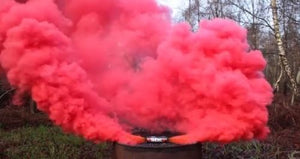 ENOLA GAYE Smoke Simulators Burst Smoke Photography / Gender Reveal / Airsoft / Paintball - Paintball - 4 PacK Red Purple Green Blue
