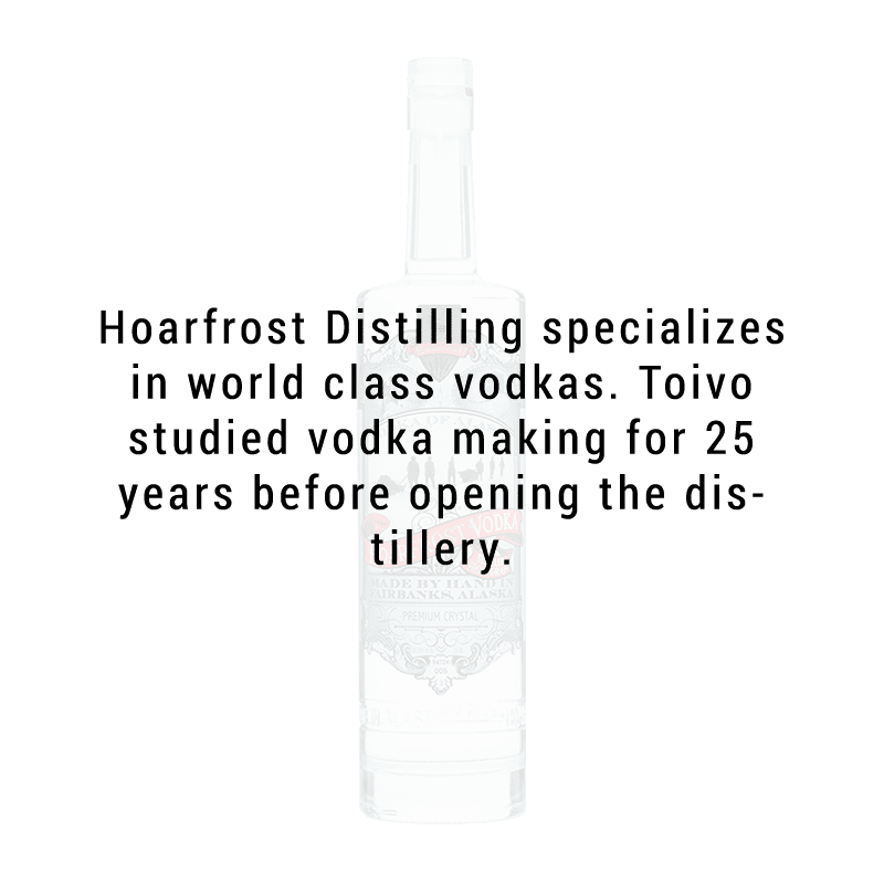 Hoarfrost Crystal Handmade Vodka 750ml