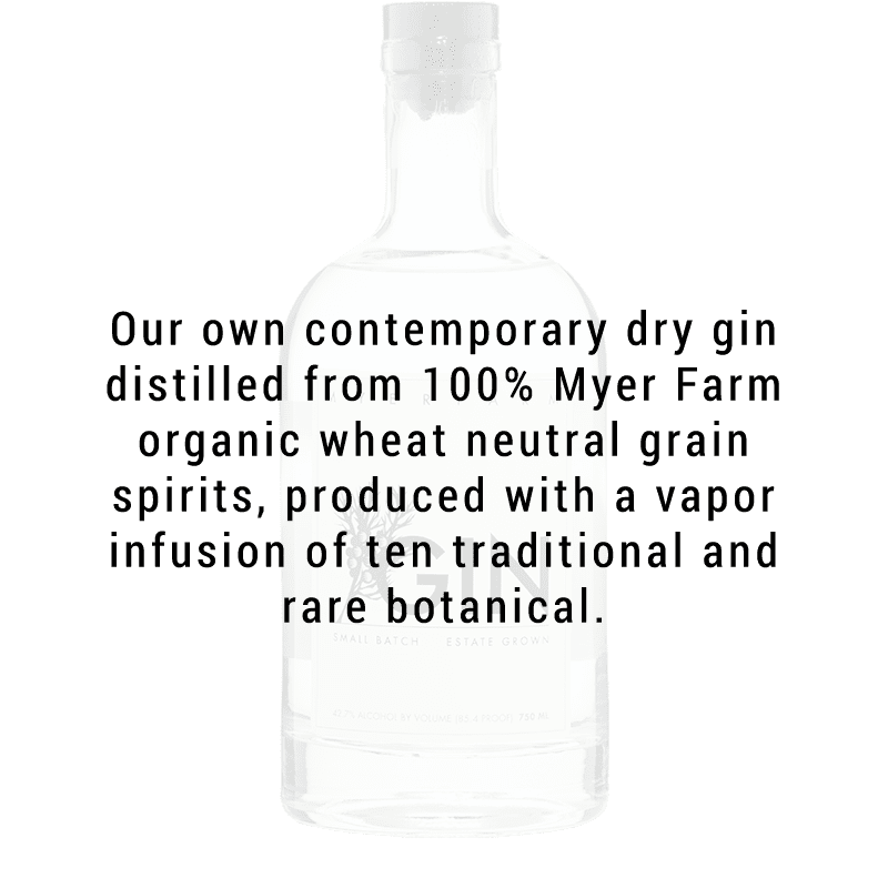 Myer Farm Gin Great American Craft Spirits Buy Online