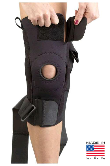 AKS Knee Support w/Plastic Hinge
