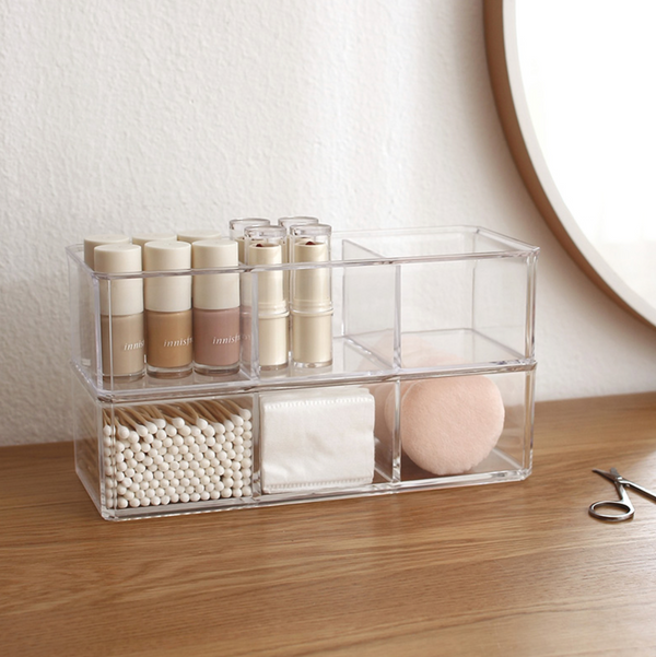 Elle Clear Beauty Organizer