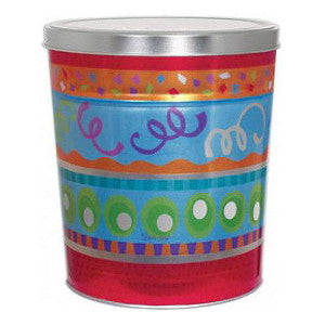 Popcorn Tin 6.5 Gallon All Occasion - Butter, Caramel, Cheese