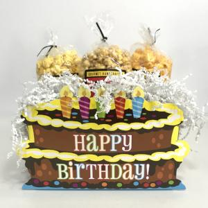 Birthday Popcorn Gift Basket