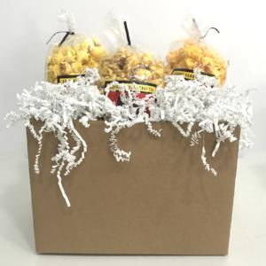 Kraft Box All Occasion Popcorn Gift Basket