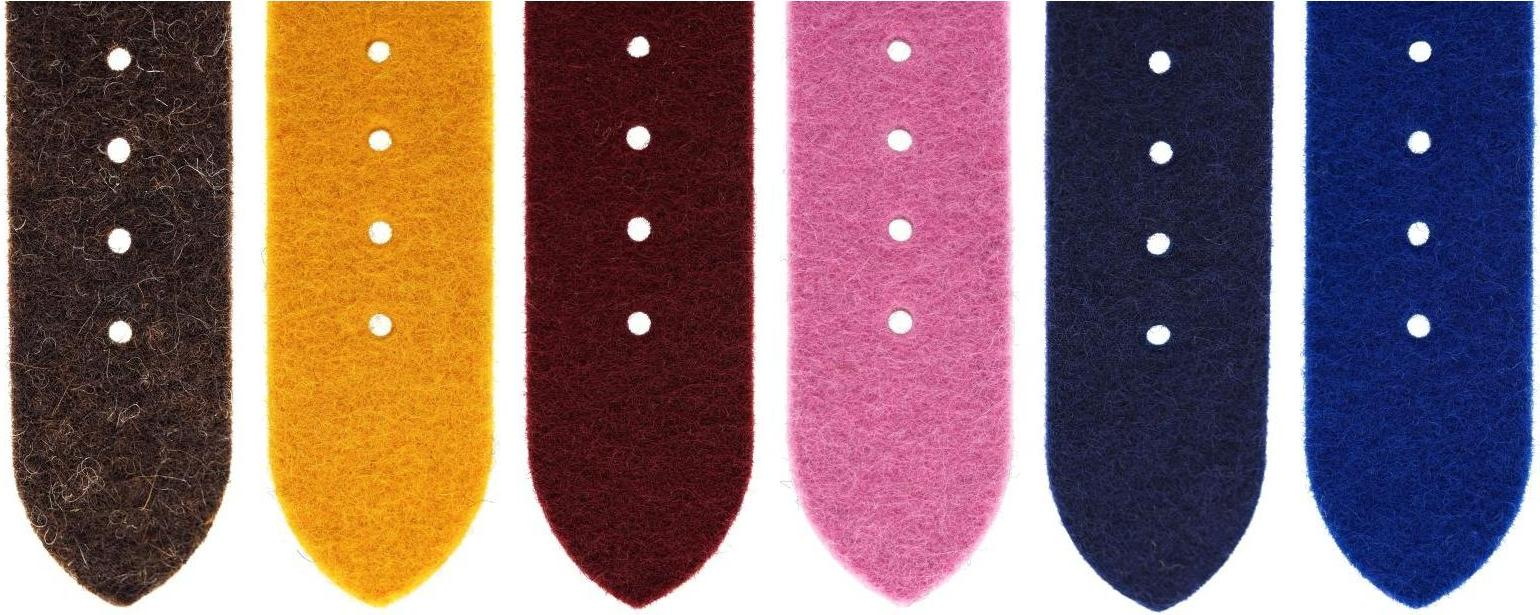 Watch band colors