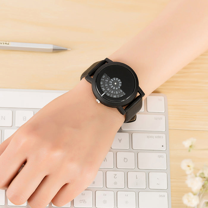 Quartz wristwatch
