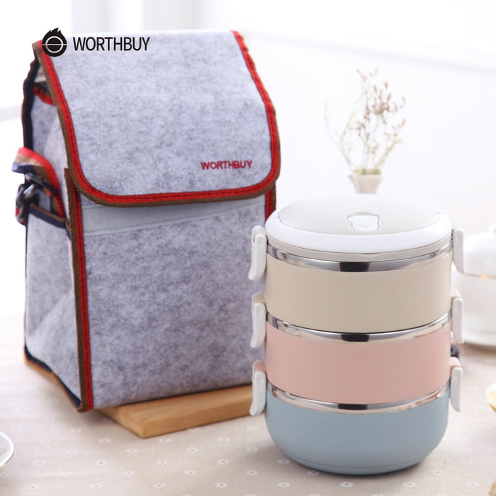Thermal Bento Lunch Box Set