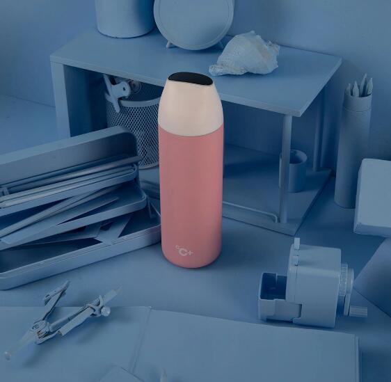 Smart Thermos with LED Temperature Display