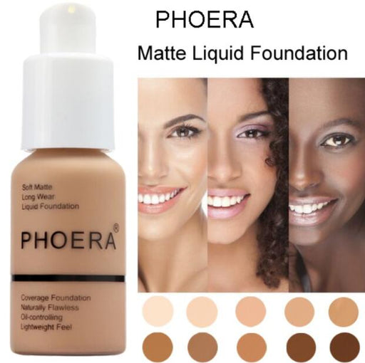 Soft Matte Long Wear Foundation