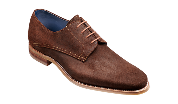 Max - Brown Burnished Suede