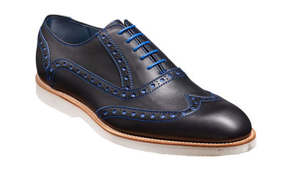 Avenger - Navy / Electric Blue Calf