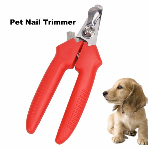 1Pcs Animal Dog Cat Nail Clippers Scissors Pet Puppy Dog Scissors Cat Toe Trimmer Nail Clippers Pet Grooming Tools