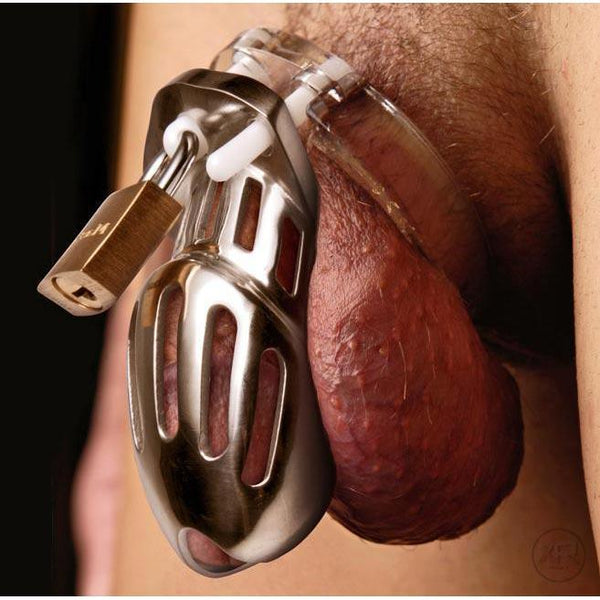 Stainless Steel Metal Chastity Upgrade