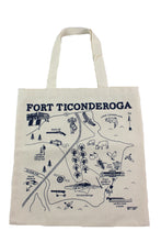 Load image into Gallery viewer, Fort Ticonderoga Grocery Tote