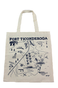 Fort Ticonderoga Grocery Tote