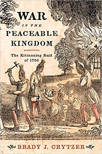 Book cover with historical image of Natives and title