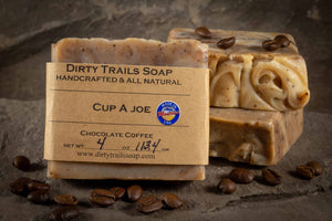 Soap - Cup Of Joe - Dirty Trails Soap