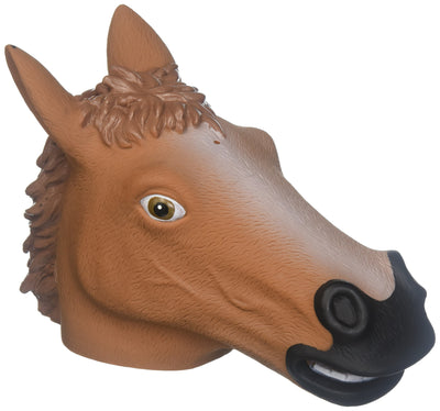Accoutrements Horse Head Squirrel Feeder - White Elephant Gift