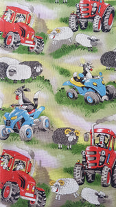 PRE-ORDER Sheep Farming Print - Beeswax Foodwraps - Sandwich Size - 2 Pack