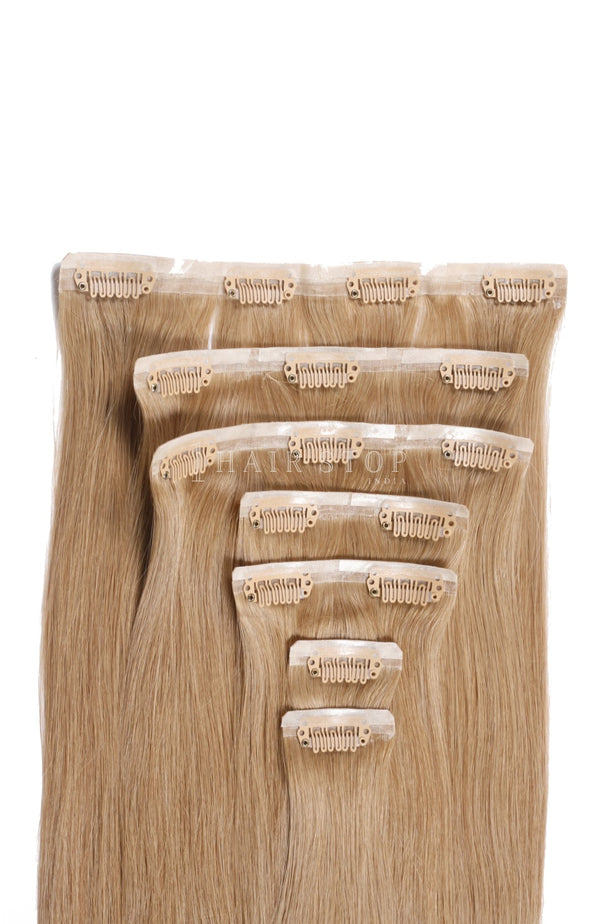 Blonde Hair Extensions - Clip-in Extensions